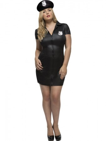 Ladies Police Uniform Fever Curves Army Soldier Dress Costume