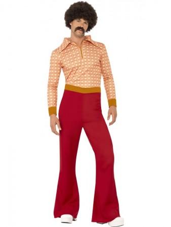 70s 1970s 1960s Authentic Guy Hippy Hippie Dance Disco Woodstock Retro Fancy Dress Up Costume
