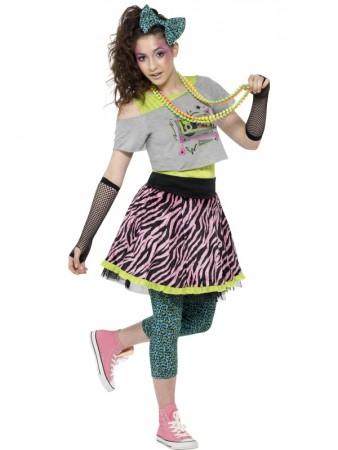Teen Wild Child 80s  COSTUME CS44345_1