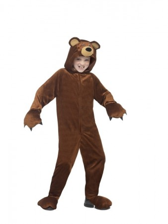 Bear Teddy Book Week Animal Jumpsuit Boys Girls Kids Aniaml Costume Fancy Dress