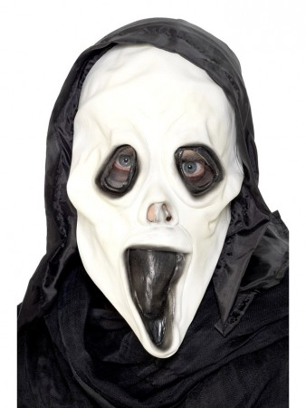 Accessories - Adult Glow in the Dark Screamer Mask Grim Reapers Smiffys Halloween Fancy Dress Costume Accessories
