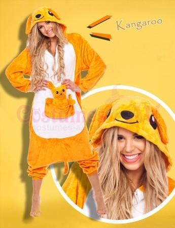 Onesies & Animal Costumes Australia - Kangaroo Onesie Animal Costume