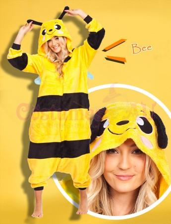 Onesies & Animal Costumes Australia - Bee Onesie Animal Costume