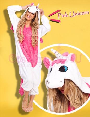 Onesies & Animal Costumes Australia - Pink Unicorn Onesie Animal Costume