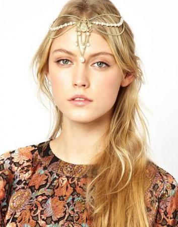 Bohemian Deco Headband Boho Goddess