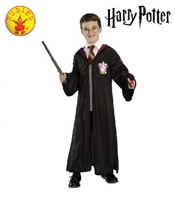 Kids Harry Potter Blister Costume Kit Wizard Gryffindor Robe Glasses Wand