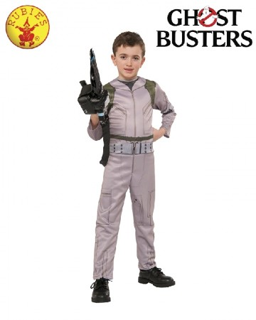 Kids Ghostbusters Ghost Busters Jumpsuit 80s Child Costume