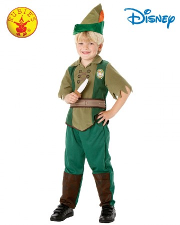 Child Peter Pan Costume Neverland Robin Hood Fancy Dress Book Week Outfit