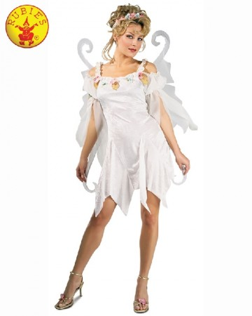 Ladies Halloween Secret Wishes Snow Fairy Fancy Dress Book Week Costume