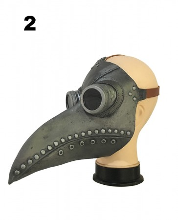 Steampunk Bird Plague Doctor Masker lx2024-2