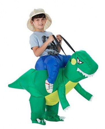 Kids Dinosaur t-rex carry me inflatable costume tt2017-2
