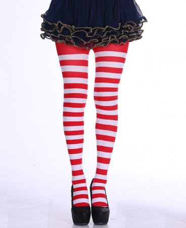 Adult The cat in the hat where's wally xmas Pantyhose front