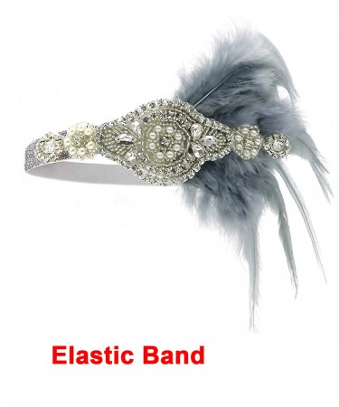 1920s Headband Feather Flapper Headpiece ladies