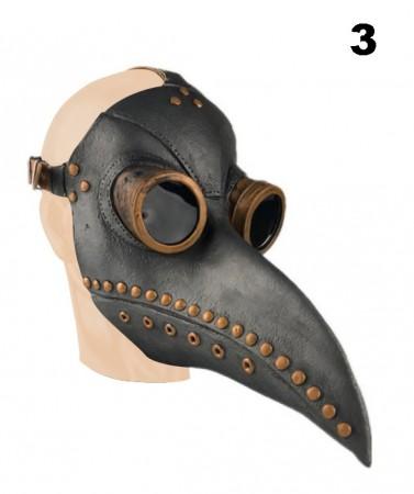 Steampunk Bird Plague Doctor Masker lx2024-3