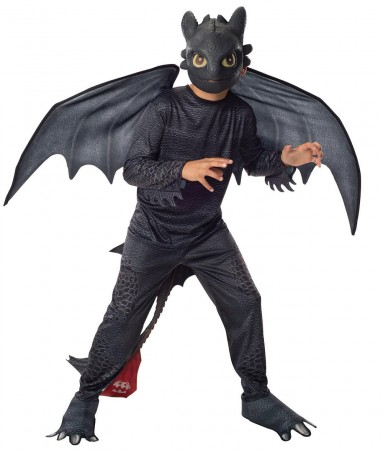 How to Train Your Dragon 2 Toothless Costume