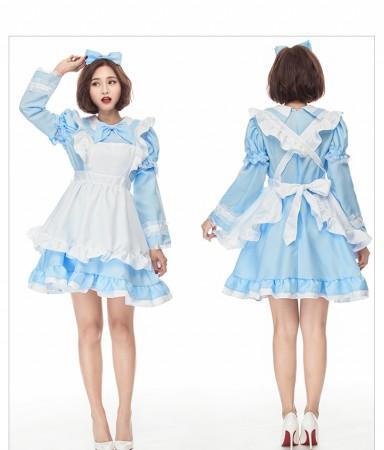 Ladies Alice in Wonderland Costume Book Week Fancy Party Dress