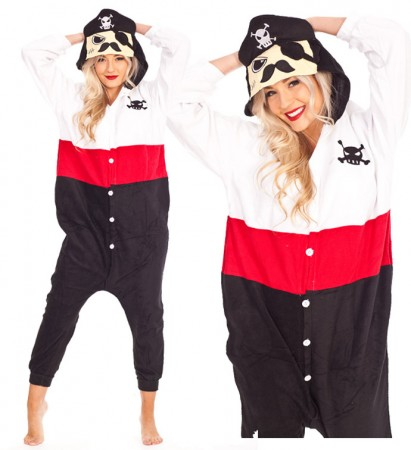 Onesies & Animal Costumes Australia - Captain Pirate onesie