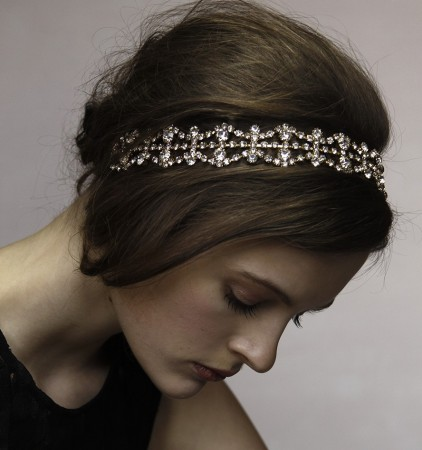 Deco Vintage Hairband 20s  Flapper Chain Headband