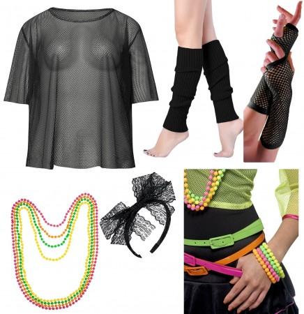 Black  1980s Costume