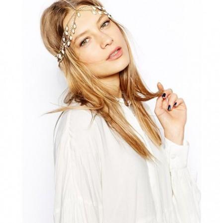 Deco Downton Wedding Boho Goddess Headband