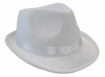 Adult Hat Cowboy 1920s Gangster Costume White Hat Accessories