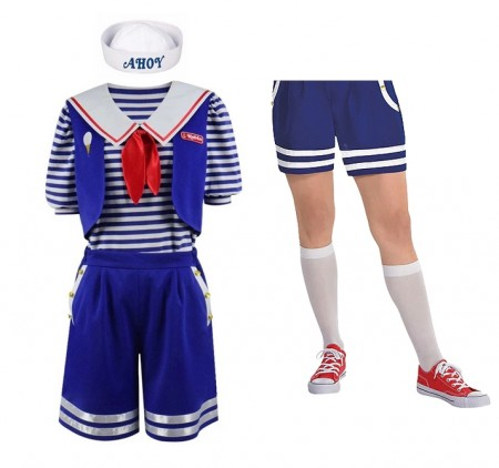 Adult Robin Scoops Ahoy Costume Stranger Things