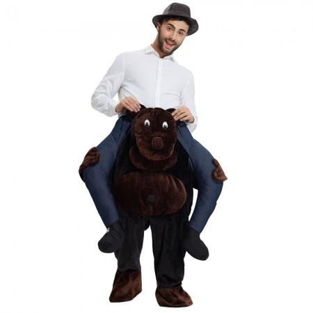 Gorilla Shoulder Carry On Piggy Back Ride On Me Costume