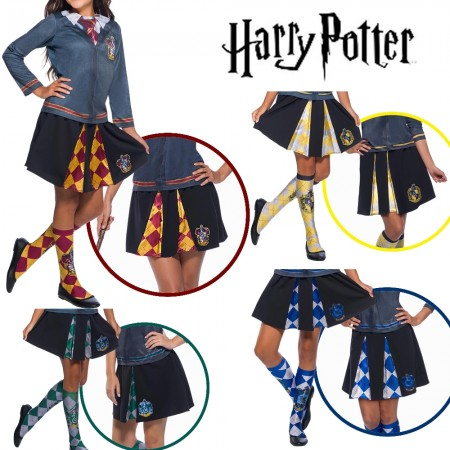 Hufflepuff Ravenclaw Gryffindor Slytherin Hogwarts Houses Skirt