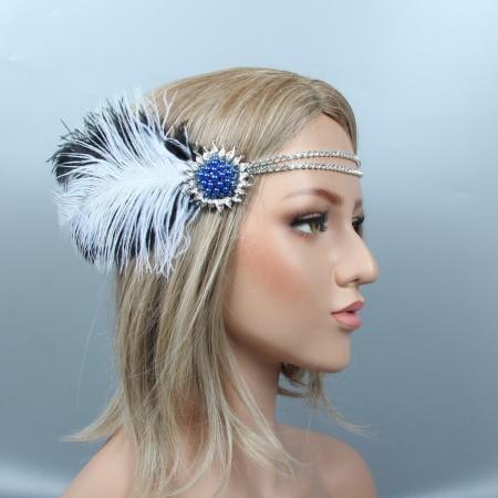 20s Great Gatsby Flapper Headpiece