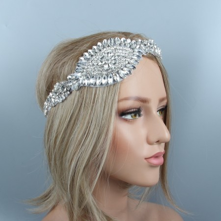 1920s Headband Great Gatsby Flapper Headpiece