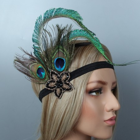 Ladies 20s Headband Great Gatsby Flapper Headpiece