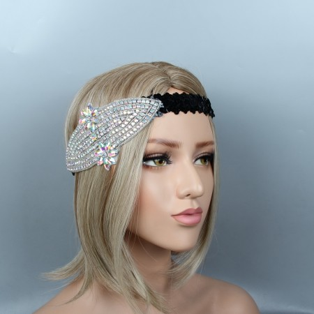 Ladies 20s The Great Gatsby Flapper Headpiece