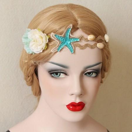 Mermaid Crown Seashell Headpiece lx0212