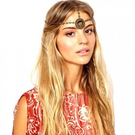 Bohemian Goddess Jewelry Deco Vintage Hairband 20s Headband