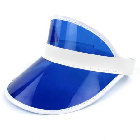 Blue Unisex Sun Visor Cap