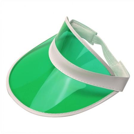 Green Unisex Sun Visor Cap