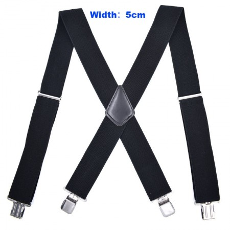 1920s Mens Womens Unisex Suspenders Braces Elastic Adjustable Clip