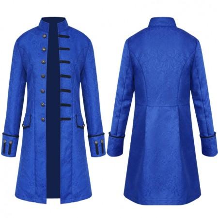 Blue Mens Vintage Jacket tt3102blue