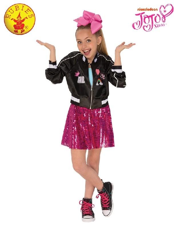 JoJo Siwa Video Outfit Nickelodeon Dancer Fancy Dress Halloween Child Costume