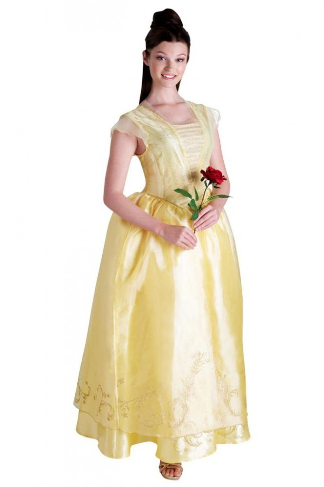 Deluxe Belle Princess Disney Live Action Beauty The Beast Dress