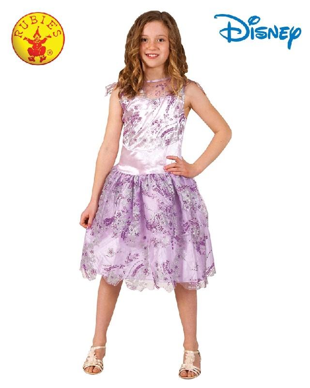 Child Deluxe Mal Descendants Isle Disney Costume Girls Fancy Dress