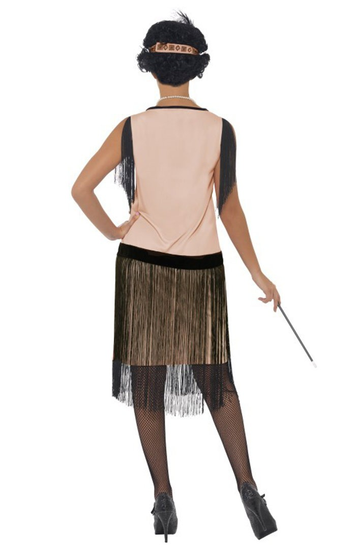 Licensed 1920s 20s Laides Coco Flapper Chicago Jazz Fancy Dress Up Costume Party