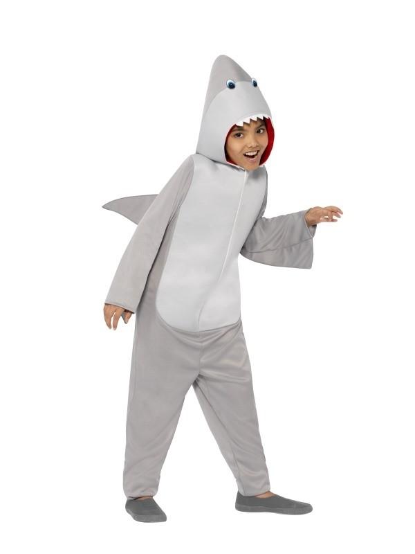 7094c4c414d Kids Animal Shark Mascot Costume Fancy Dress Party Cosplay Outfit Bodysuit  Suit