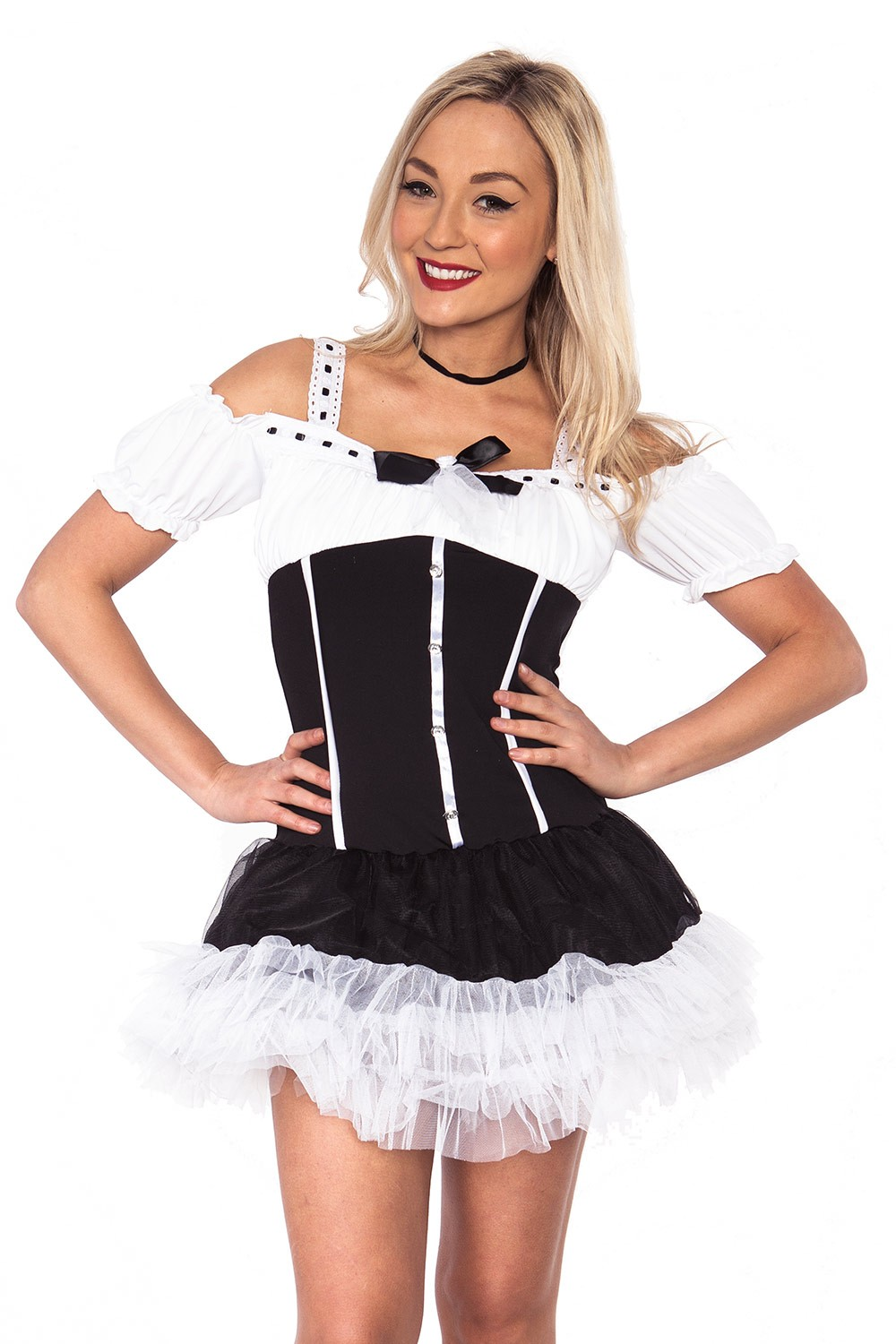cf4f450ebee3 Adult Womens Sexy French Maid Costume Sexy Room Services Occupation ...