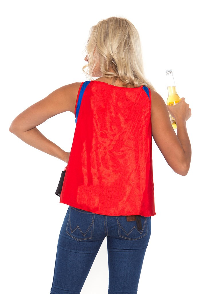 Oktoberfest Six-Pack Beer holder Super Hero Superhero Fancy Dress Costume