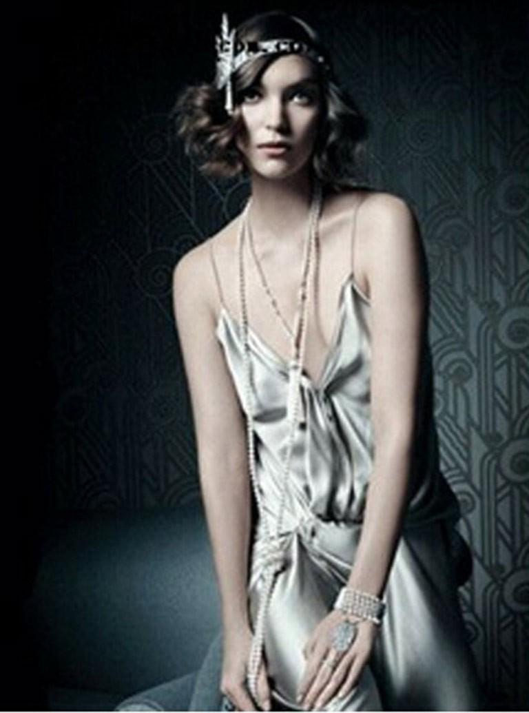 1920s vintage necklace great gatsby flapper costume. Black Bedroom Furniture Sets. Home Design Ideas