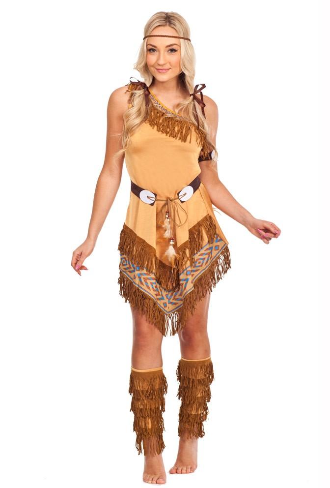 e5817628f26 Indian Wild West Fancy Dress Costume