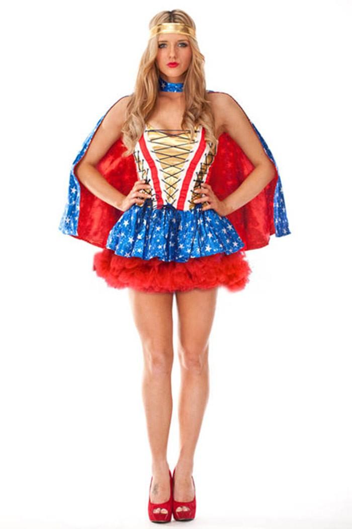 Man in wonder woman costume-9306