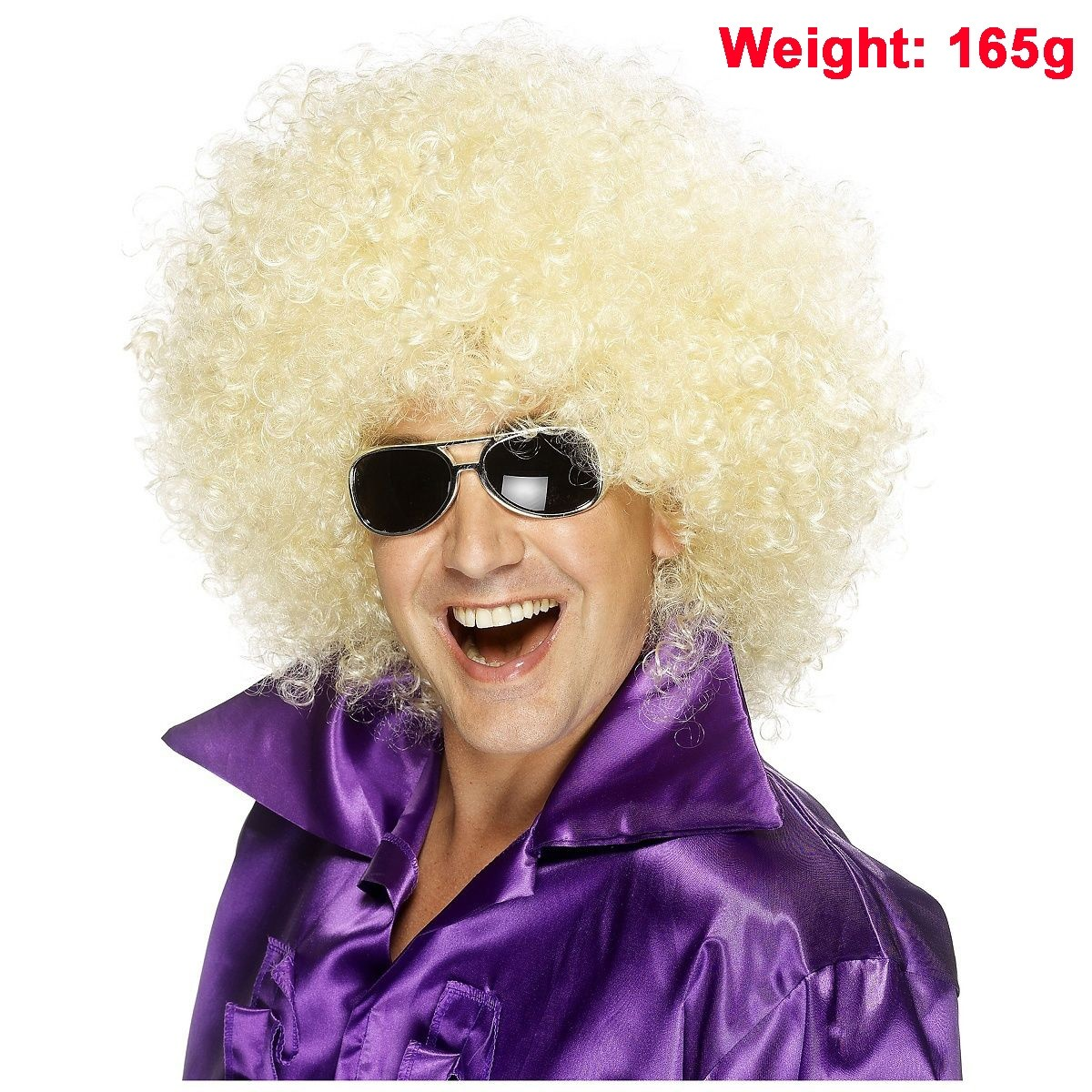 Mens Ladies Funky Afro Wig Adult 1970s 70s Disco Party Curly Costume 70/'s Wigs