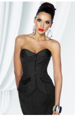 Ladies office Dress Corset with Skirt
